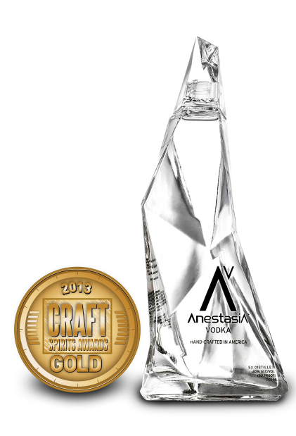 2013 craft spirits awards | anestasia vodka