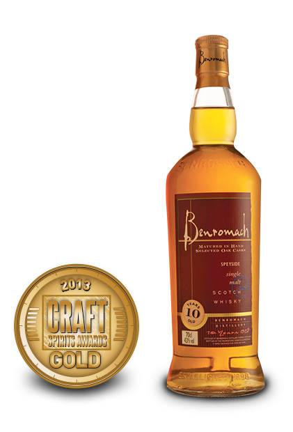 2013 craft spirits awards | benromach 10 years old single malt scotch whisky