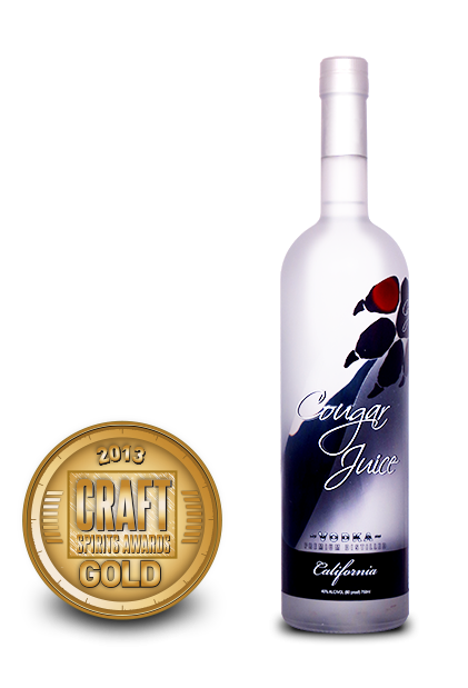 2013 craft spirits awards | cougar juice vodka