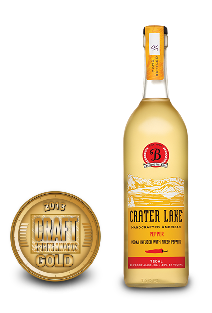 2013 craft spirits awards | crater lake pepper vodka