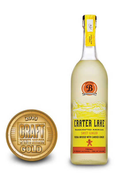 2013 craft spirits awards | crater lake sweet ginger vodka