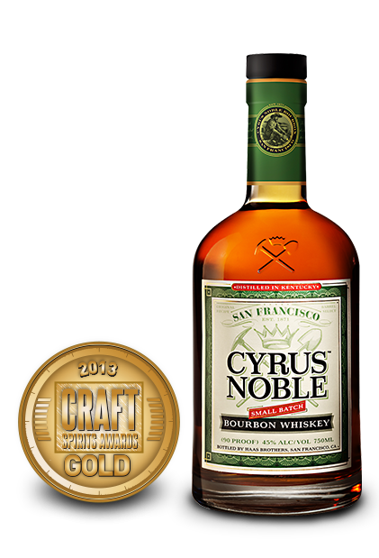 2013 craft spirits awards | cyrus noble bourbon
