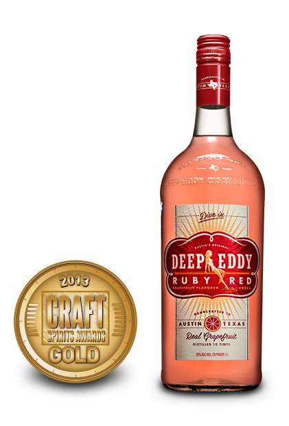2013 craft spirits awards | deep eddy ruby red