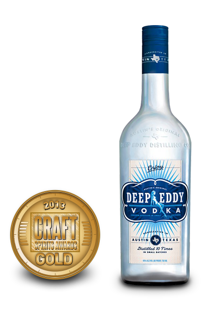 2013 craft spirits awards | deep eddy vodka