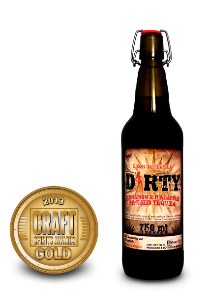 2013 craft spirits | awards dirty tequila