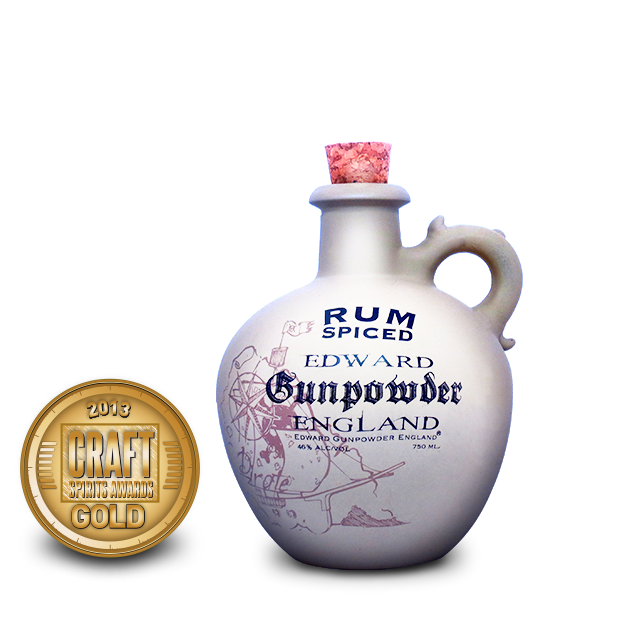 2013 craft spirits awards | edward gunpowder england rum spiced