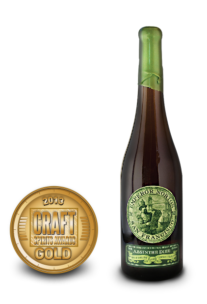 2013 craft spirits awards | emperor norton absinthe dieu