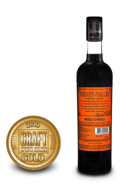 2013 craft spirits awards | fernet vallet