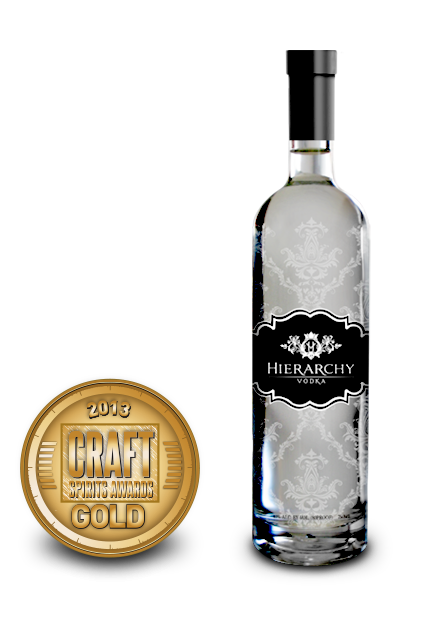 2013 craft spirits awards | hierarchy vodka