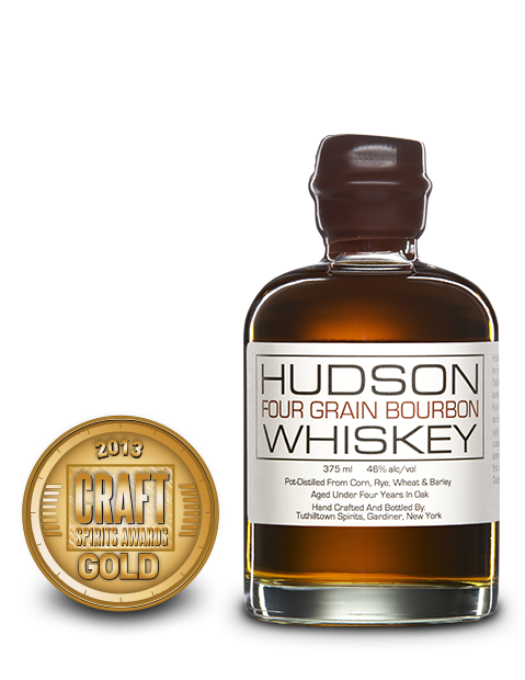 2013 craft spirits awards | hudson four grain bourbon whiskey