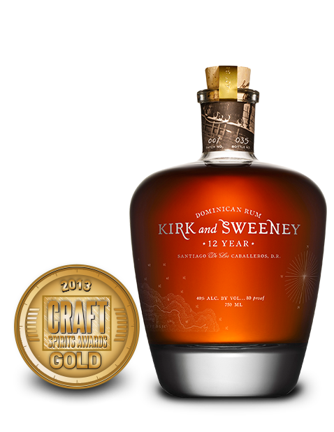 Kirk and Sweeny 12 Year Dominican Rum