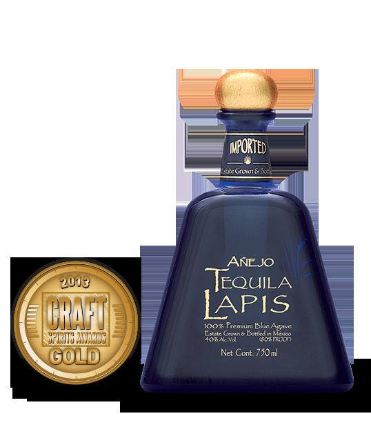 2013 craft spirits awards   lapis anejo tequila