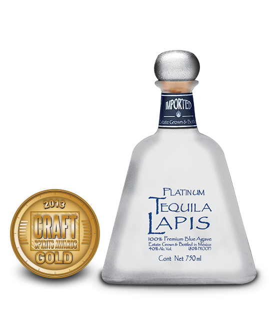 2013 craft spirits awards   lapis platinum tequila