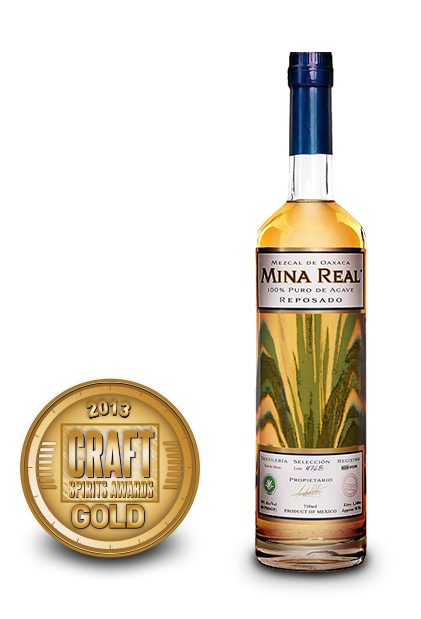 2013 craft spirits awards | mina real mezcal resposado
