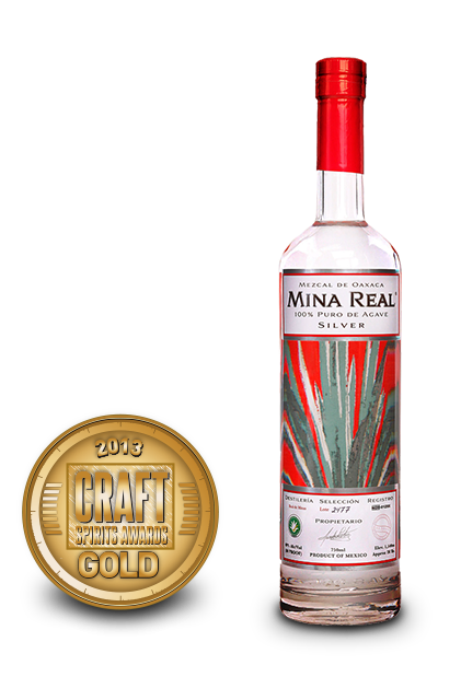 2013 craft spirits awards | mina real mezcal silver