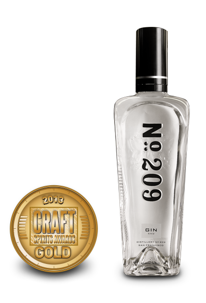 2013 craft spirits awards | no209 gin