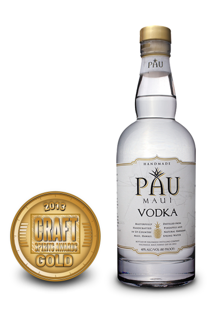2013 craft spirits awards | pau maui vodka