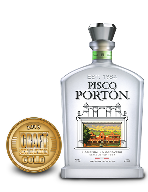 2013 craft spirits awards | pisco porton mosto verde italia