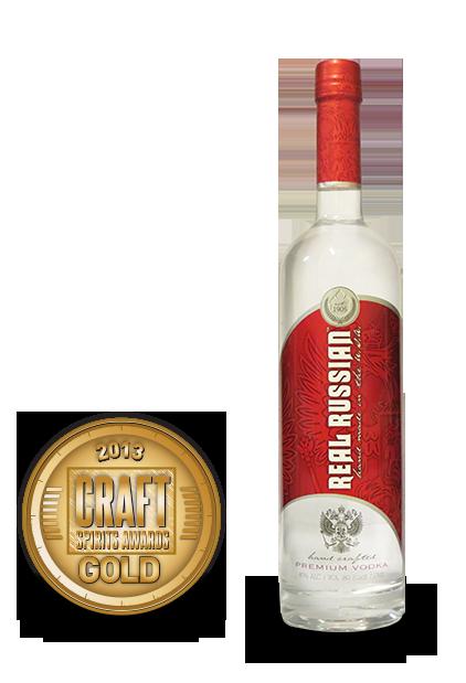 2013 craft spirits awards   real russian vodka