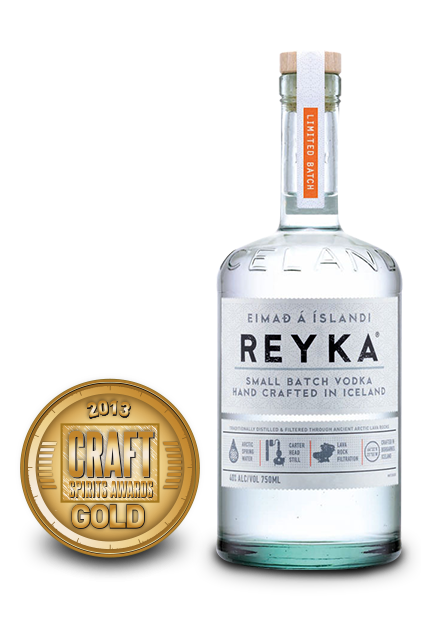 2013 craft spirits awards | reyka vodka