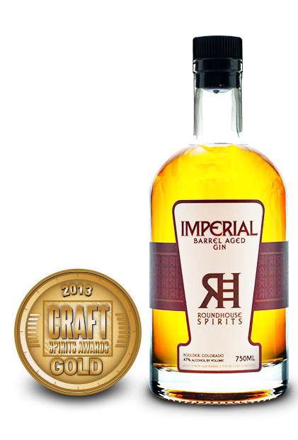 2013 craft spirits awards | roundhouse imperial barrel aged gin