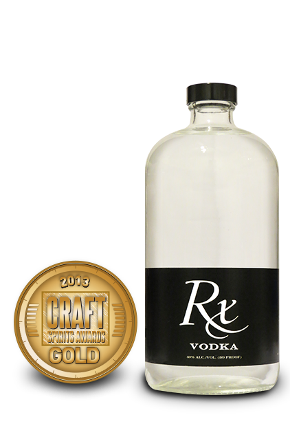 2013 craft spirits awards | rx vodka