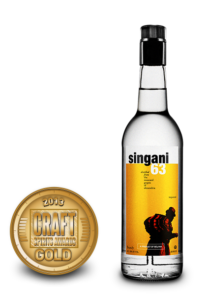 2013 craft spirits awards | singani 63