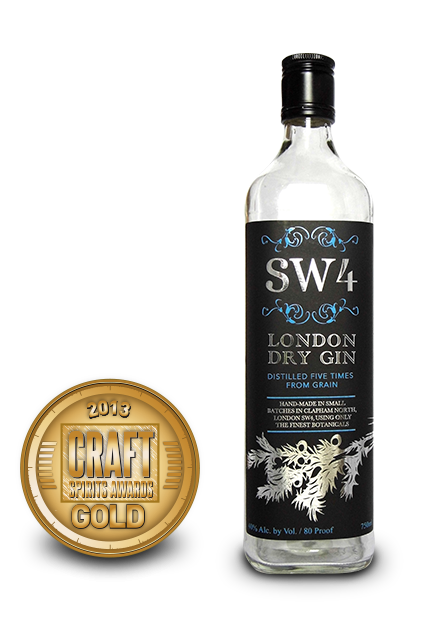 2013 craft spirits awards | sw4 london dry gin