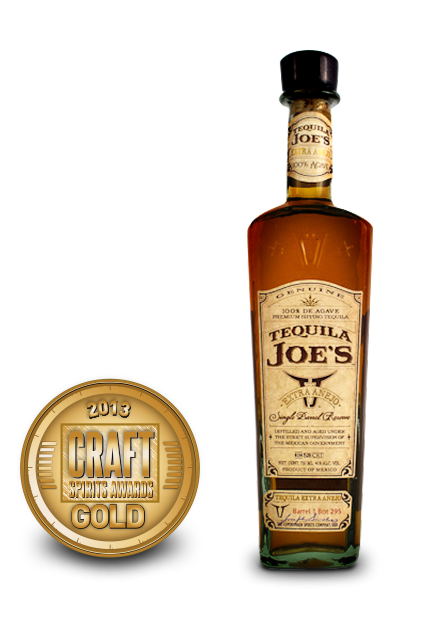 2013 craft spirits awards | tequila joes extra anejo