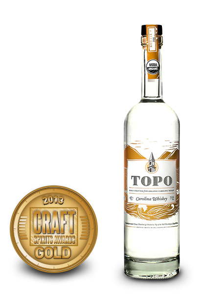 2013 craft spirits awards | topo carolina whiskey