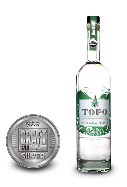 2013 craft spirits awards | topo piedmont gin