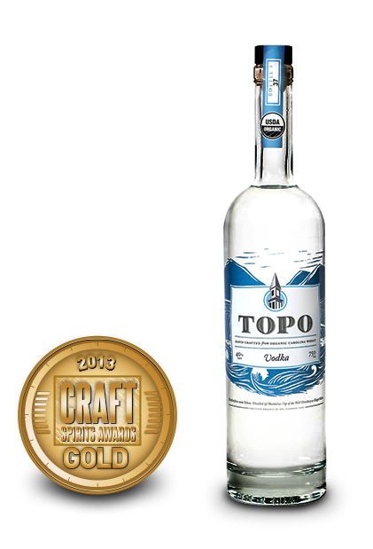 2013 craft spirits awards | topo vodka