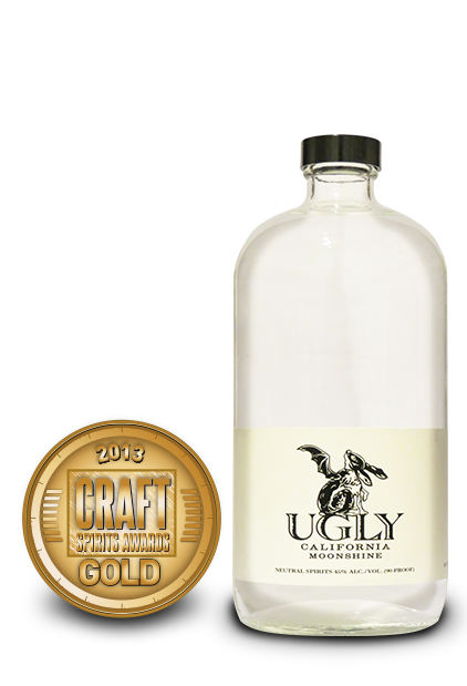 2013 craft spirits awards | ugly california moonshine