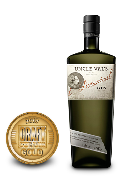 2013 craft spirits awards | uncle vals botanical gin