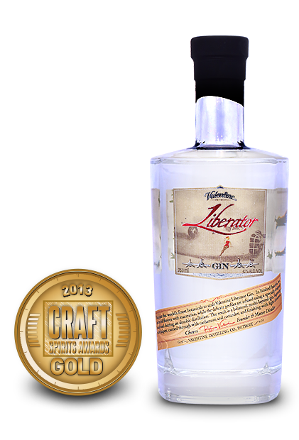 2013 craft spirits awards | valentine liberator gin