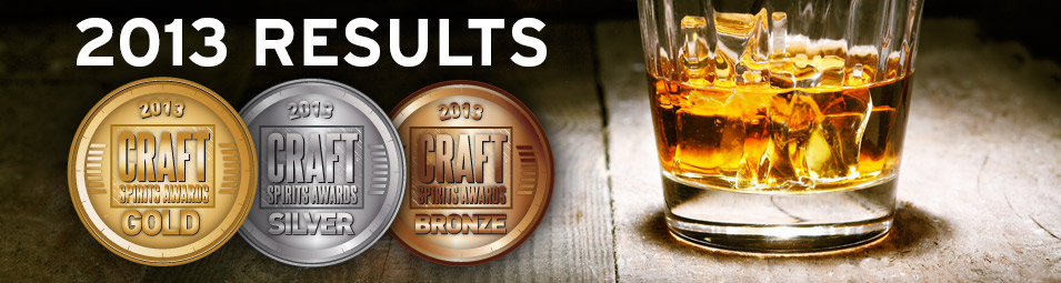 2013 craft spirits awards results