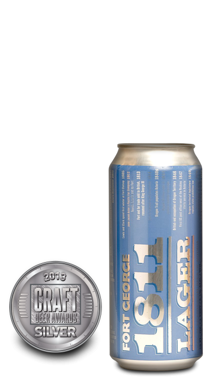 2013 craft beer awards | 1811 Lager