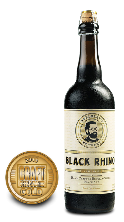 2013 craft beer awards | Black Rhino - Belgian Ale