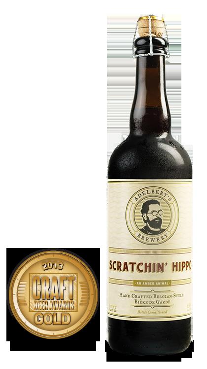 2013 craft beer awards | Scratchin' Hippo - Bière de Garde