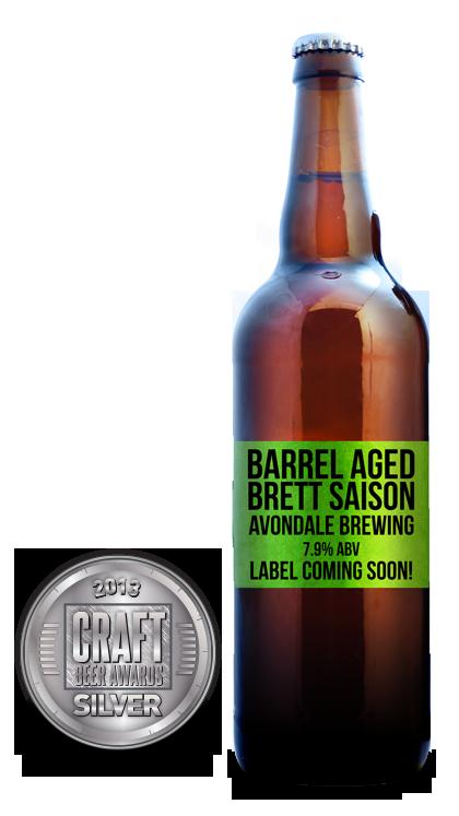 2013 craft beer awards | Barrel Aged Brett Saison