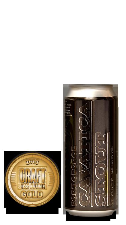 2013 craft beer awards | Cavatica - Stout