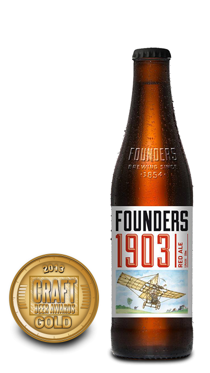 2013 craft beer awards | 1903 Red Ale