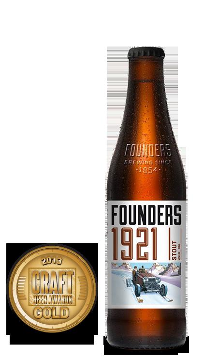 2013 craft beer awards | 1921 Stout