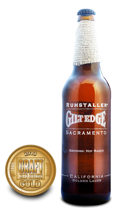 2013 craft beer awards | Gilt Edge - Premium Lager