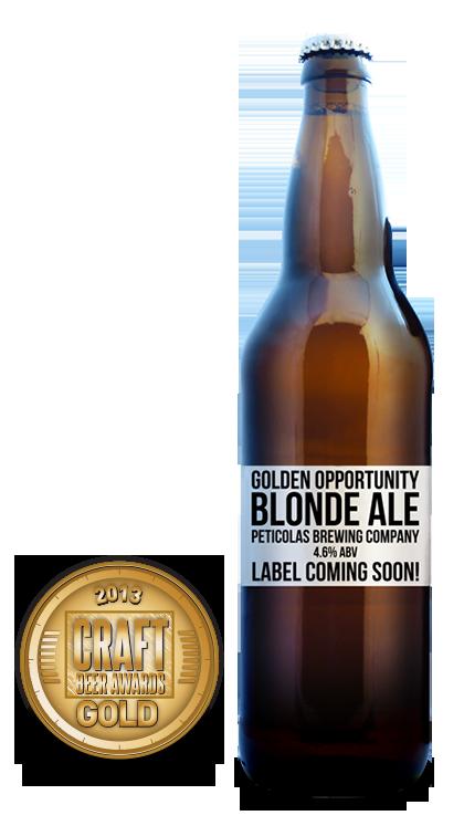 2013 craft beer awards | Golden Opportunity - Blonde Ale