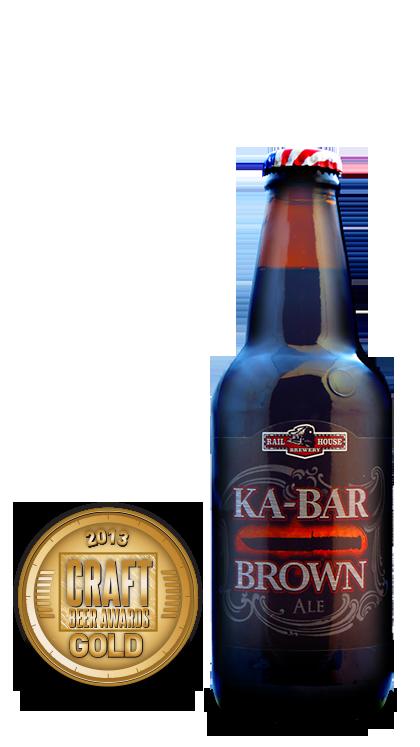 2013 craft beer awards | KA-BAR - Brown Ale