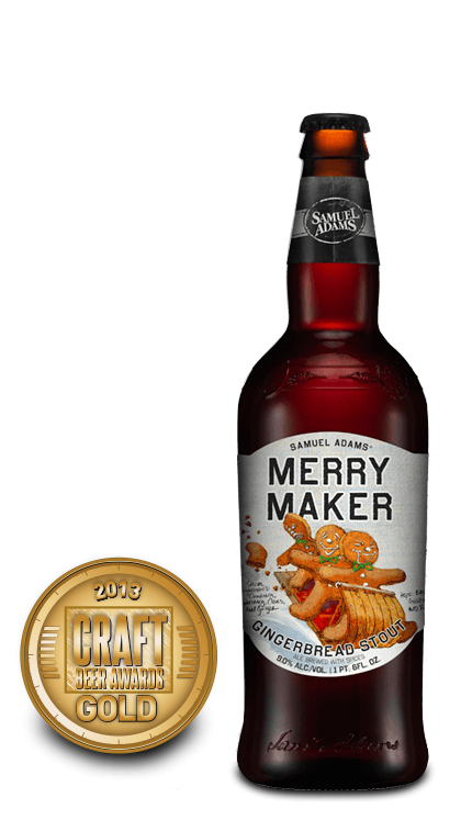 2013 craft beer awards | Merry Maker - Sweet Stout (Formerly - Merry Mischief)