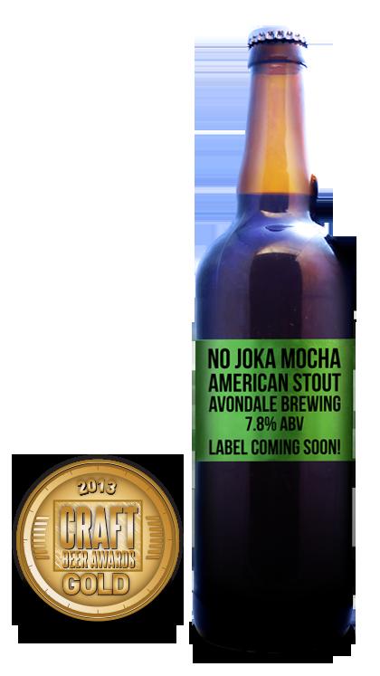 2013 craft beer awards | No Joka Mocha - American Stout