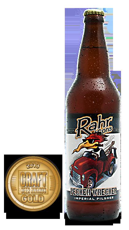 2013 craft beer awards | Pecker Wrecker - Imperial Pilsner