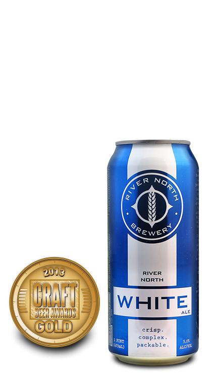 2013 craft beer awards | River North White - Witbier